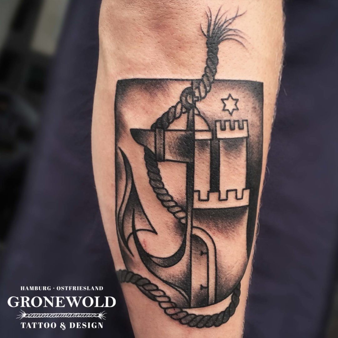 Wappen Tattoo